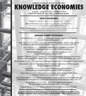 Knowledge Economies